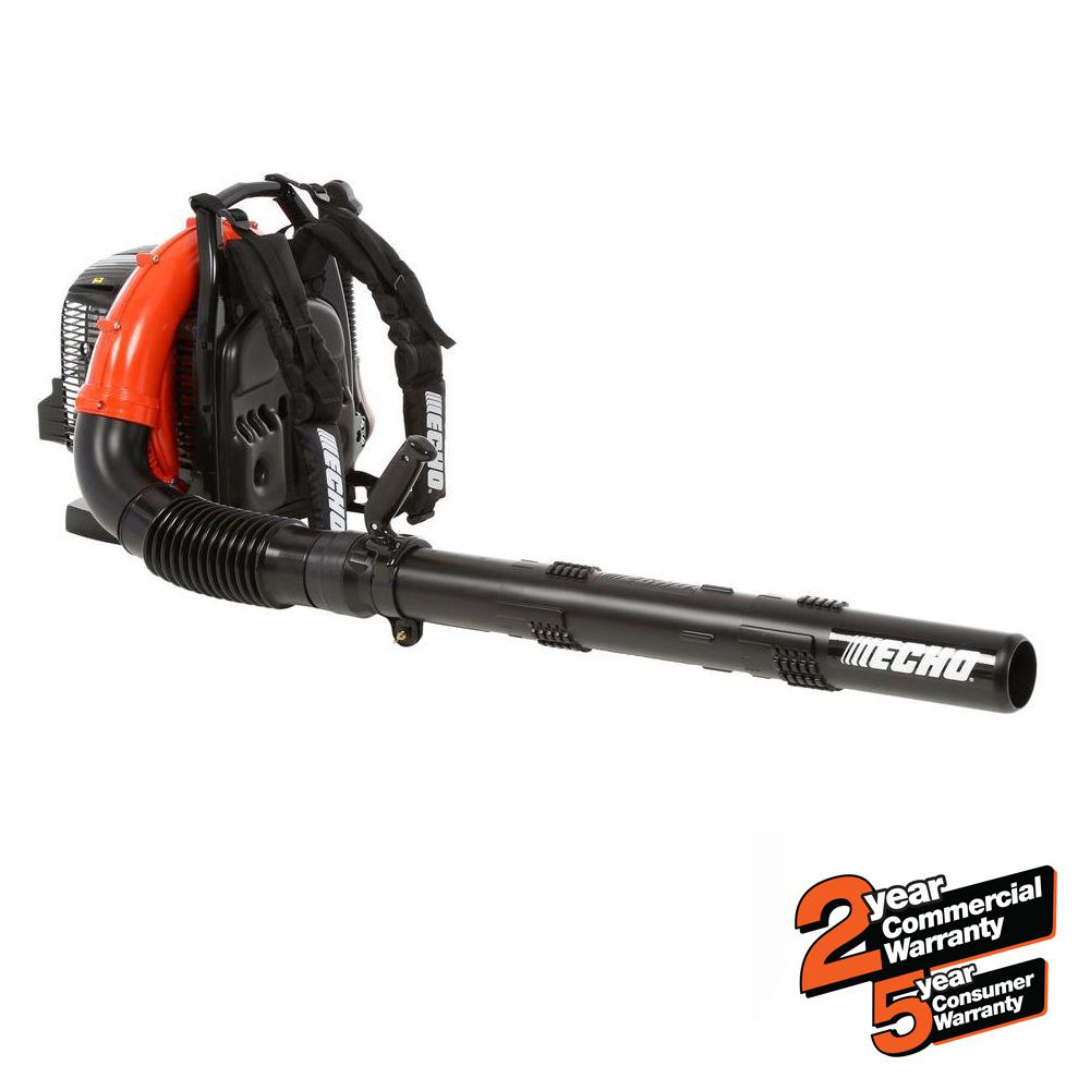 ECHO 234 MPH 756 CFM 63.3cc Gas 2-Stroke Cycle Backpack Leaf Blower with