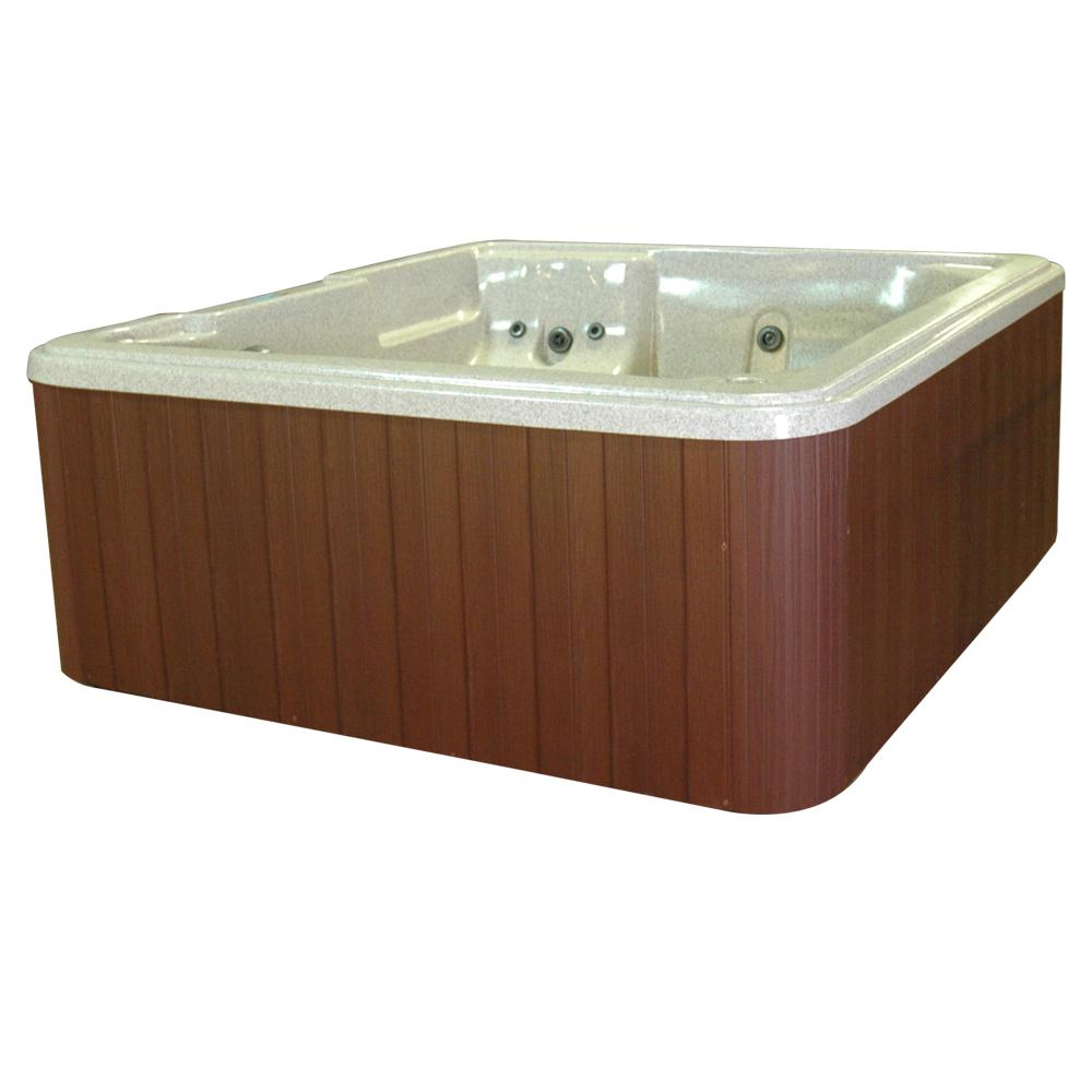 Barcelona 5-Person Plug and Play 30-Jet Spa with Ozonator LED Light