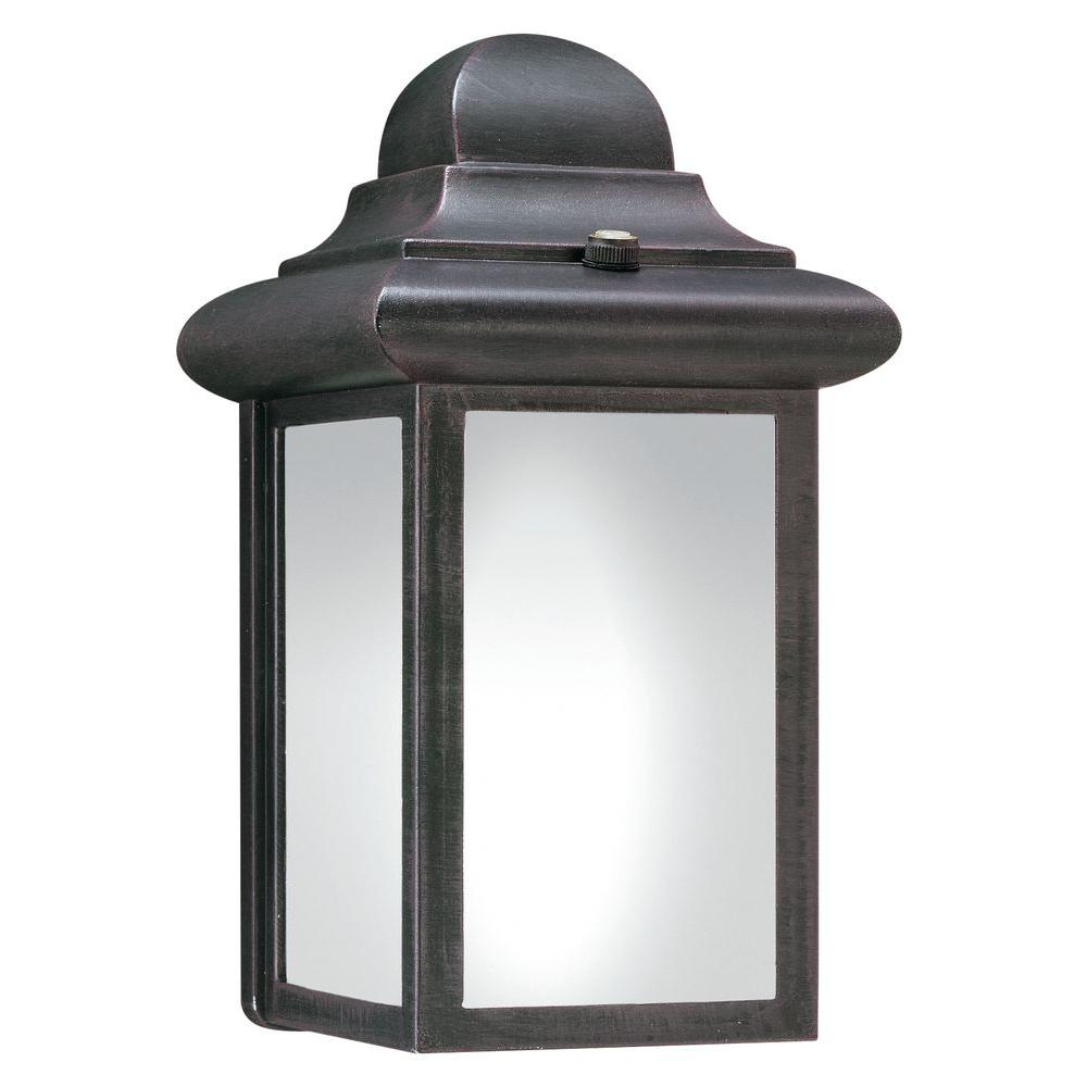 Thomas Lighting 1-Light Painted Bronze Outdoor Fluorescent
