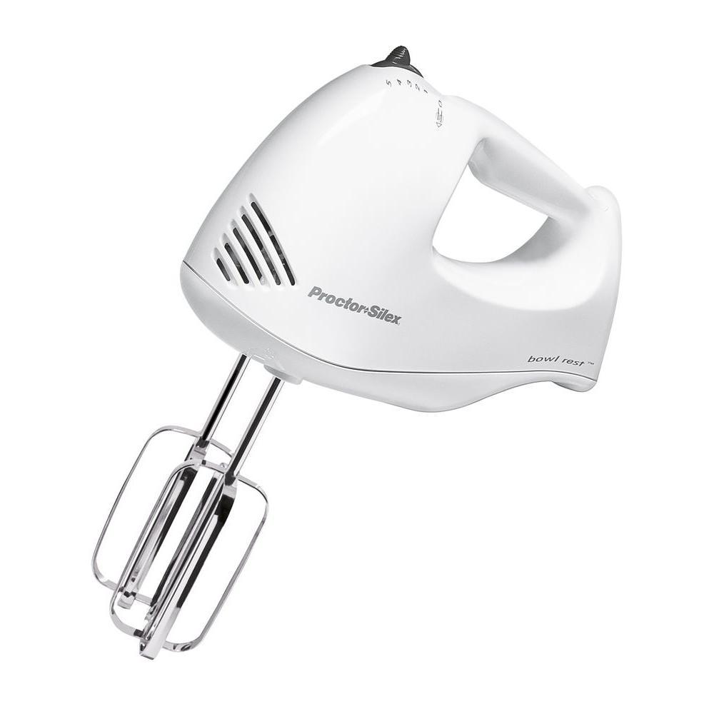 Proctor Silex Plus 5-Speed Hand Mixer-DISCONTINUED