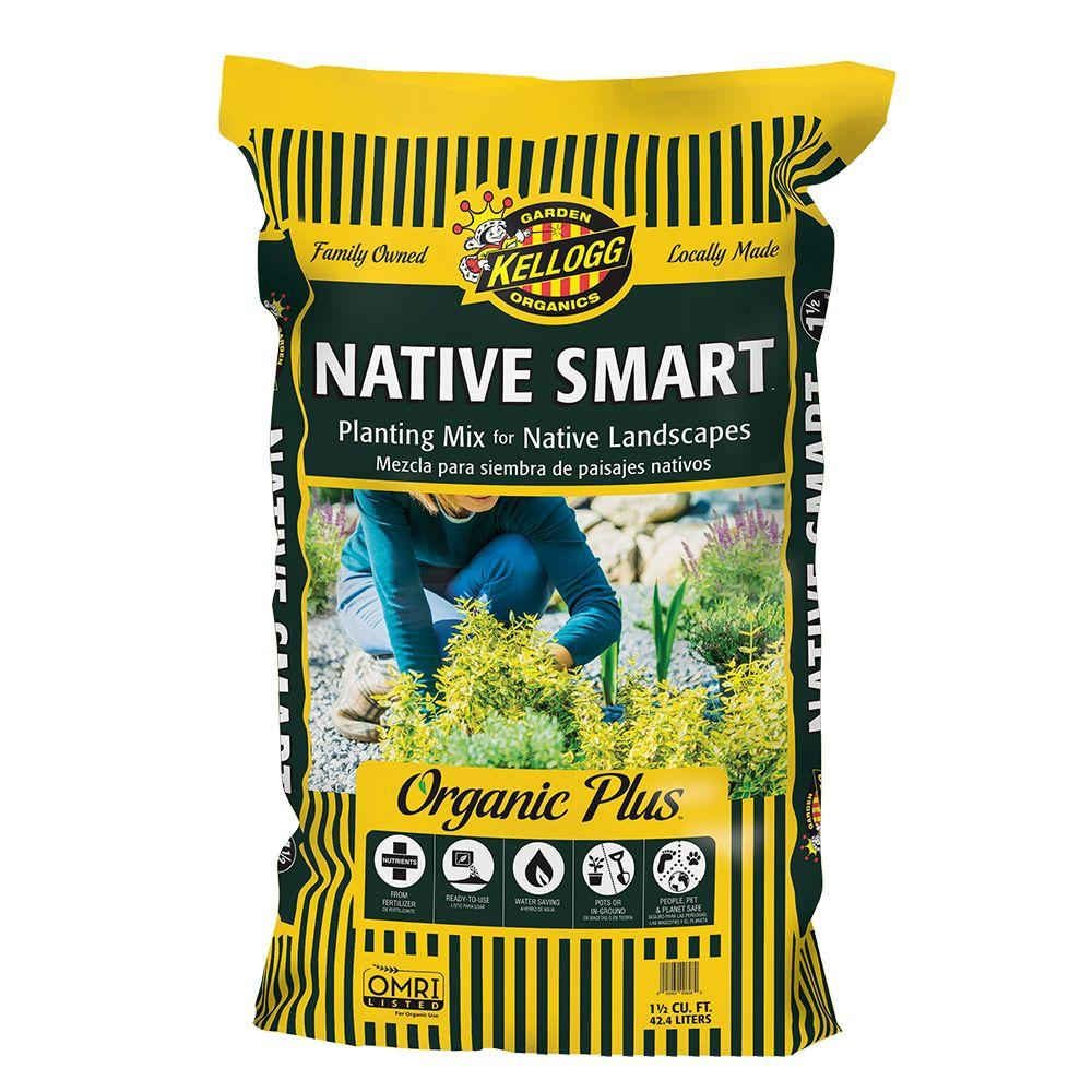 1.5 cu. ft. Native Smart Planting Mix for Native Landscapes