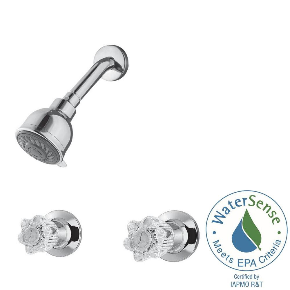 Pfister 2-Handle 3-Spray Tub and Shower Faucet in Polishe...