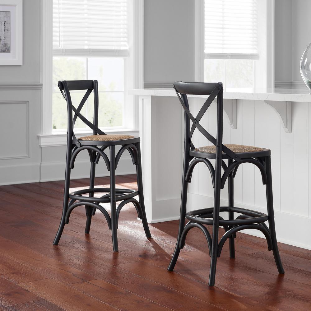 Astonishing Home Decorators Collection Mavery Black Wood Counter Stool Spiritservingveterans Wood Chair Design Ideas Spiritservingveteransorg