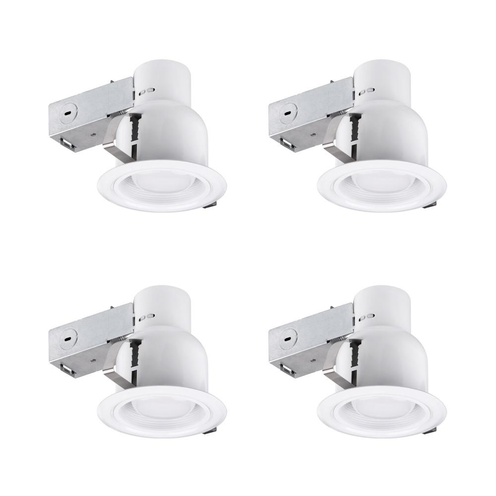Getting To Grips With Ceiling Lighting: Lithonia Lighting 3 In. Matte White Recessed Open Light Kit-LK3OAZ PFMW