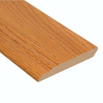Honey Oak 1/2 in. Thick x 3-13/16 in. Wide x 94 in. Length Laminate Wall Base Molding