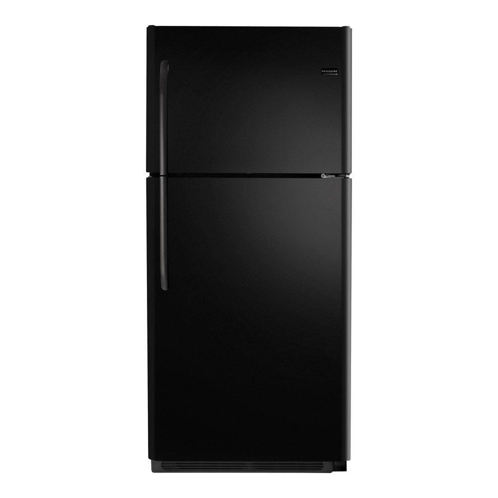 Frigidaire 20.53 cu. ft. Top Freezer Refrigerator in Black