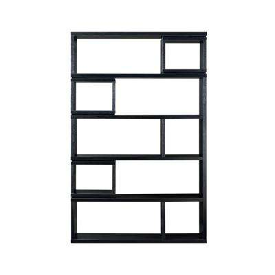 Kylie Black 10-Shelf Bookcase
