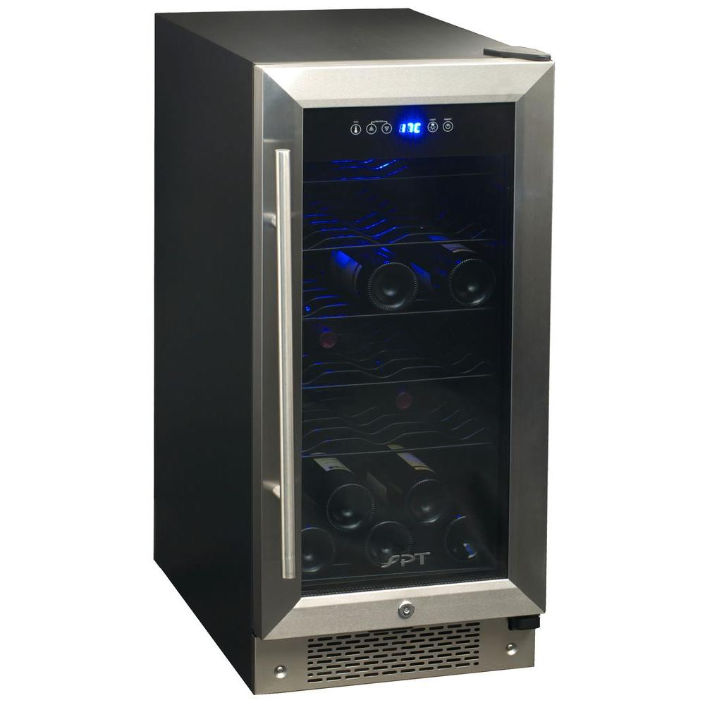 SPT 32-Bottle Under Counter Wine Cooler-DISCONTINUED