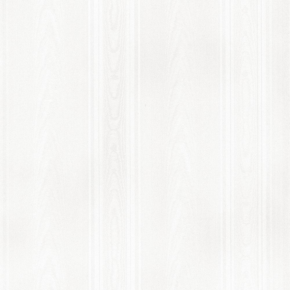Norwall Medium Moir Stripe Wallpaper