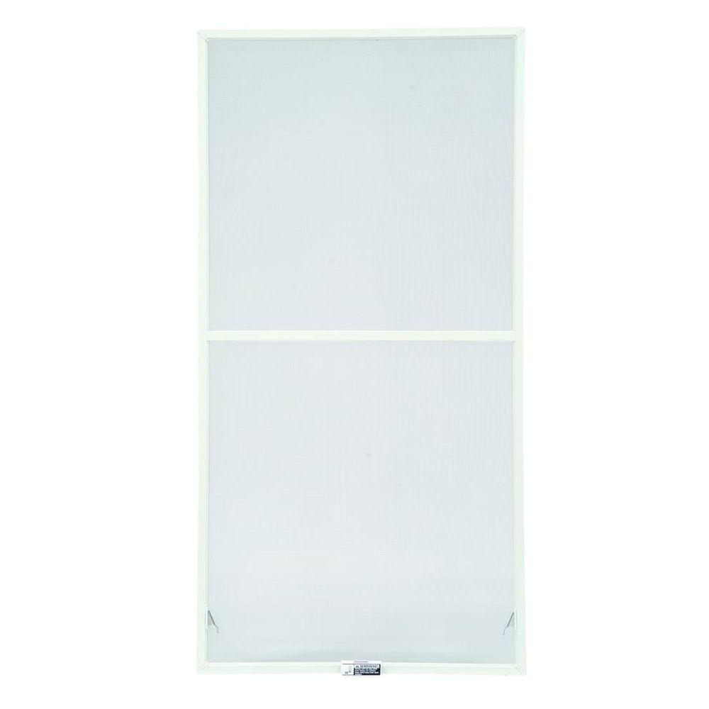 Andersen 35-7/8 in. x 62-27/32 in. White Aluminum Insect Screen