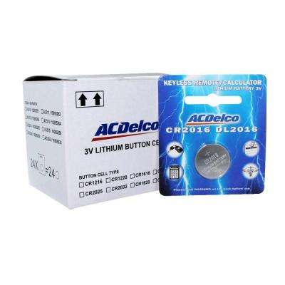 Lithium Button Cell CR2016 3-Volt Battery (24-Pack)