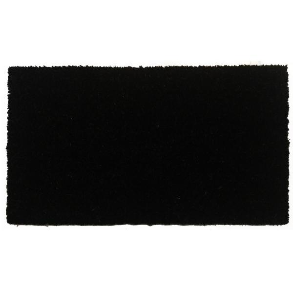 Black Beauty 24 in. x 36 in. Door Mat