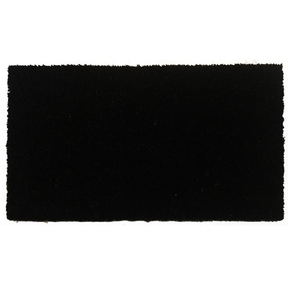Black Beauty Door Mat 17 in. x 29 in.