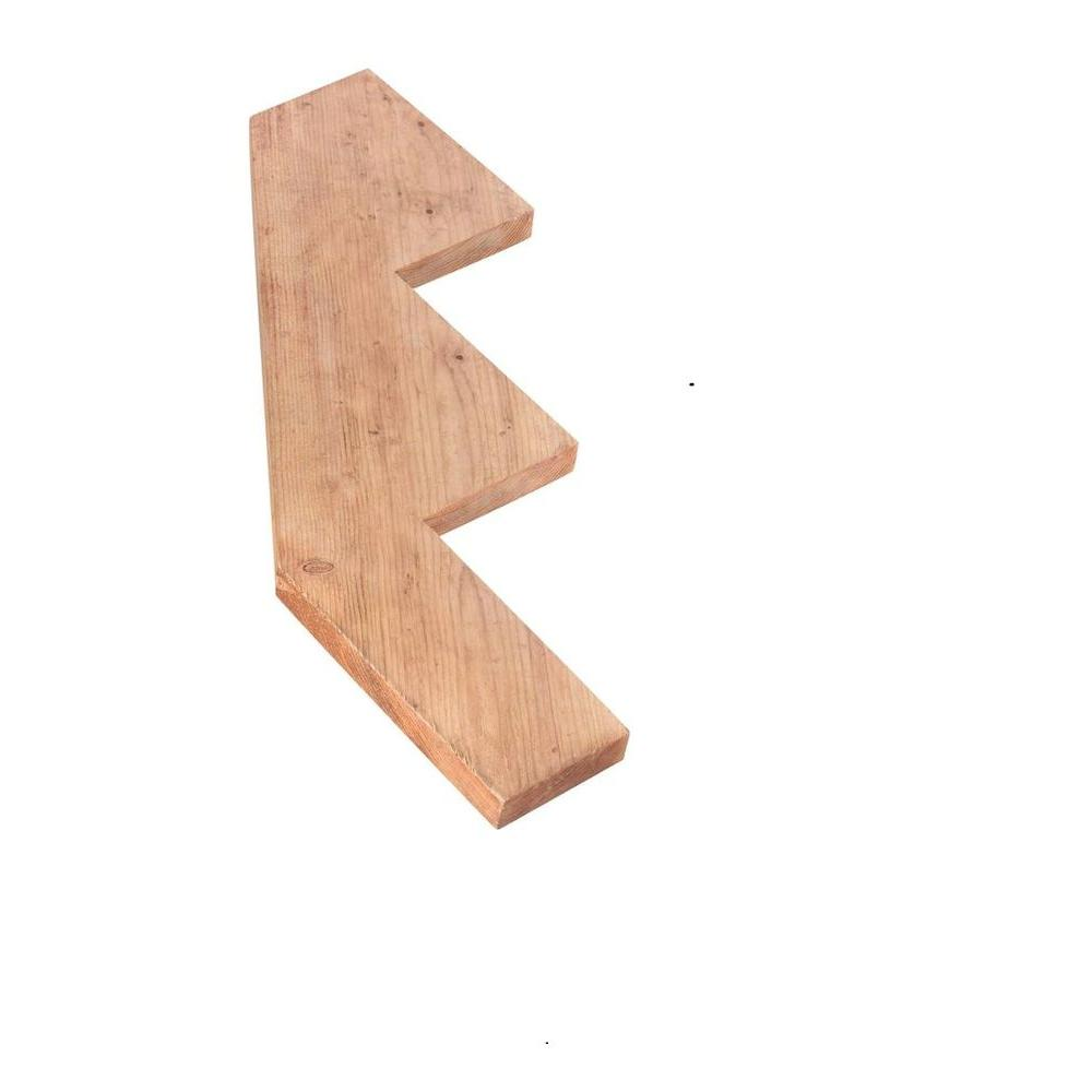 3-Step Pressure-Treated Pine Stair Stringer-106069 - The Home Depot