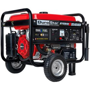 4850-Watt/3850-Watt Dual Fuel Hybrid Propane/Electric Start Gasoline Powered Portable Generator