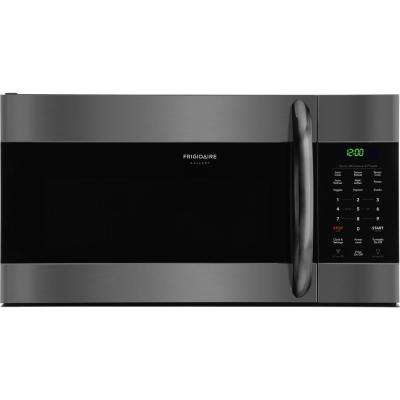 1.7 cu. ft. Over the Range Microwave in Black Stainless Steel with Sensor Cooking