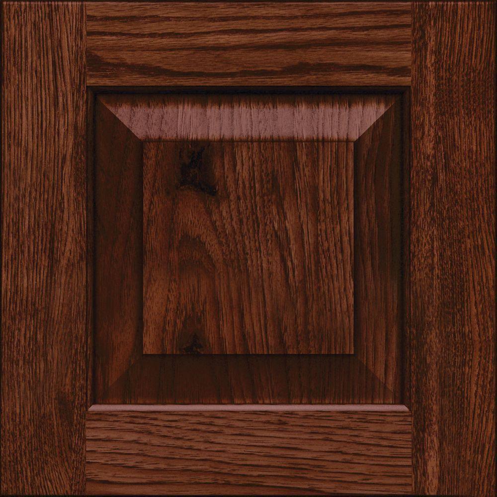 Dillon 14 5/8 x 14 5/8 in. Cabinet Door Sample in Kaff