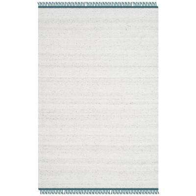 Kilim Ivory/Gray 4 ft. x 6 ft. Area Rug