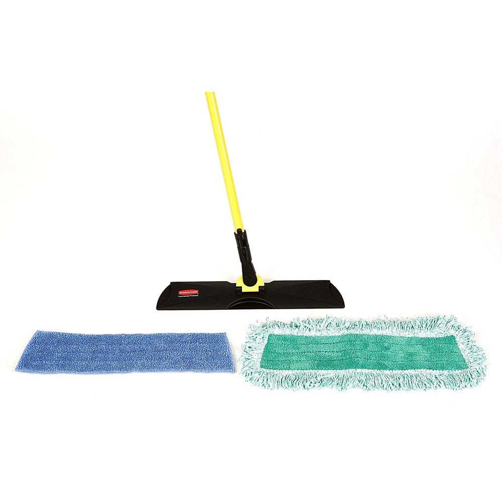 Rubbermaid Commercial Products Microfiber Floor Care Mop Kit
