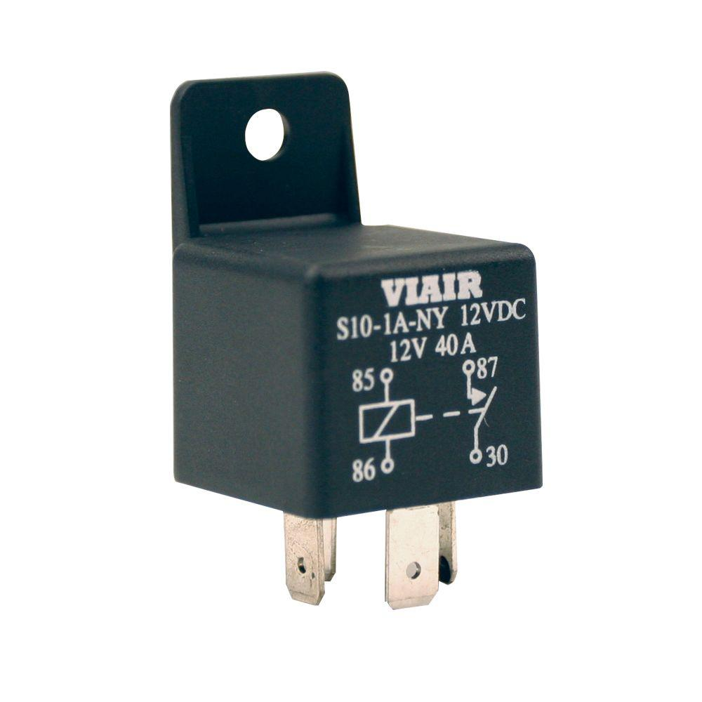Viair 40 Amp Relay 93940 The Home Depot Diagram Together With 12 Volt Wiring 5 Pole