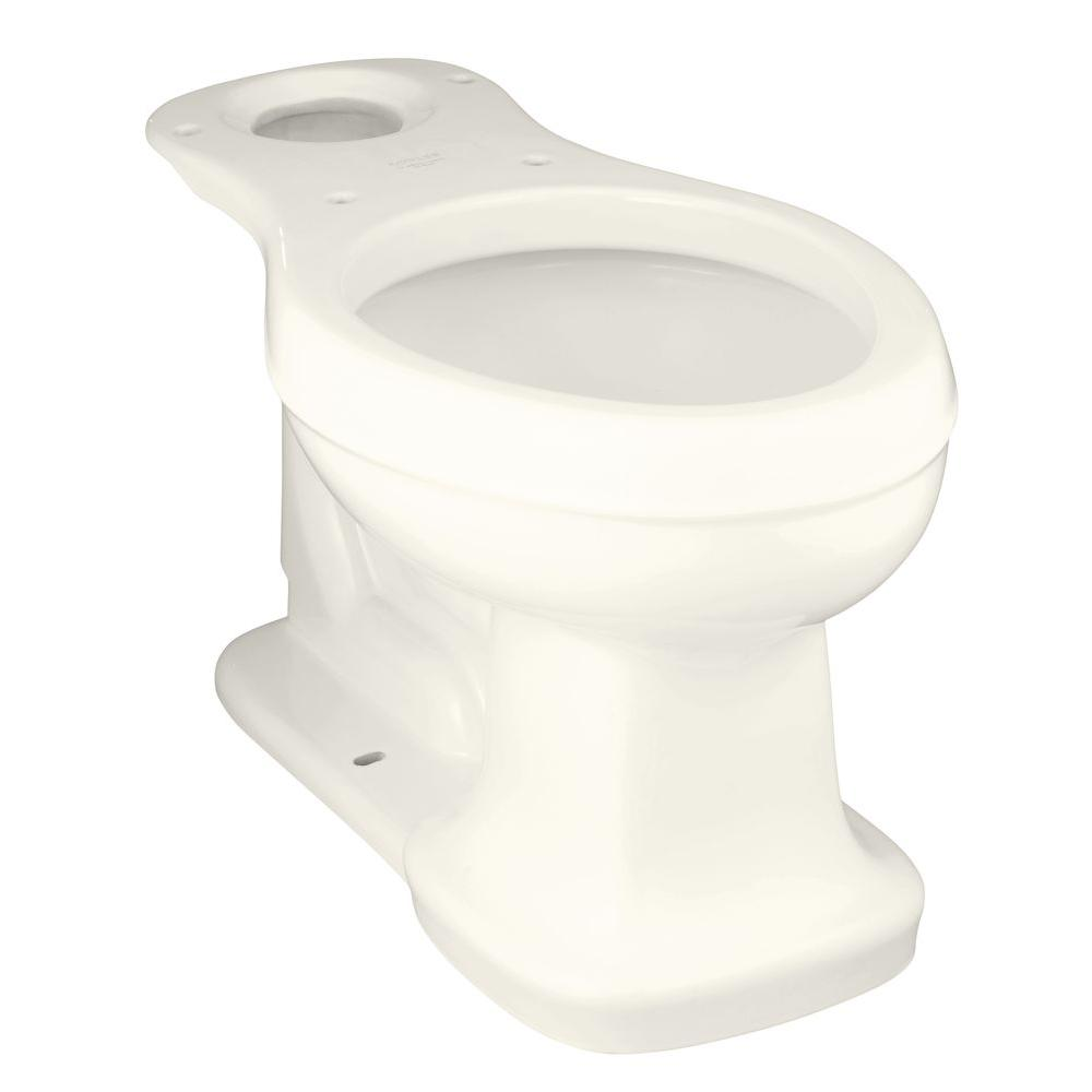 KOHLER Bancroft Elongated Toilet Bowl Only in Biscuit