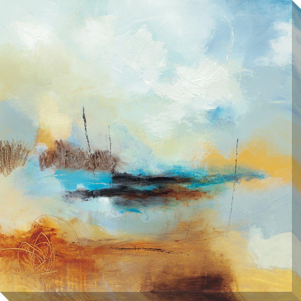 NEP Art 40 in. x 40 in. Desert Skies II Oversized Canvas Gallery Wrap