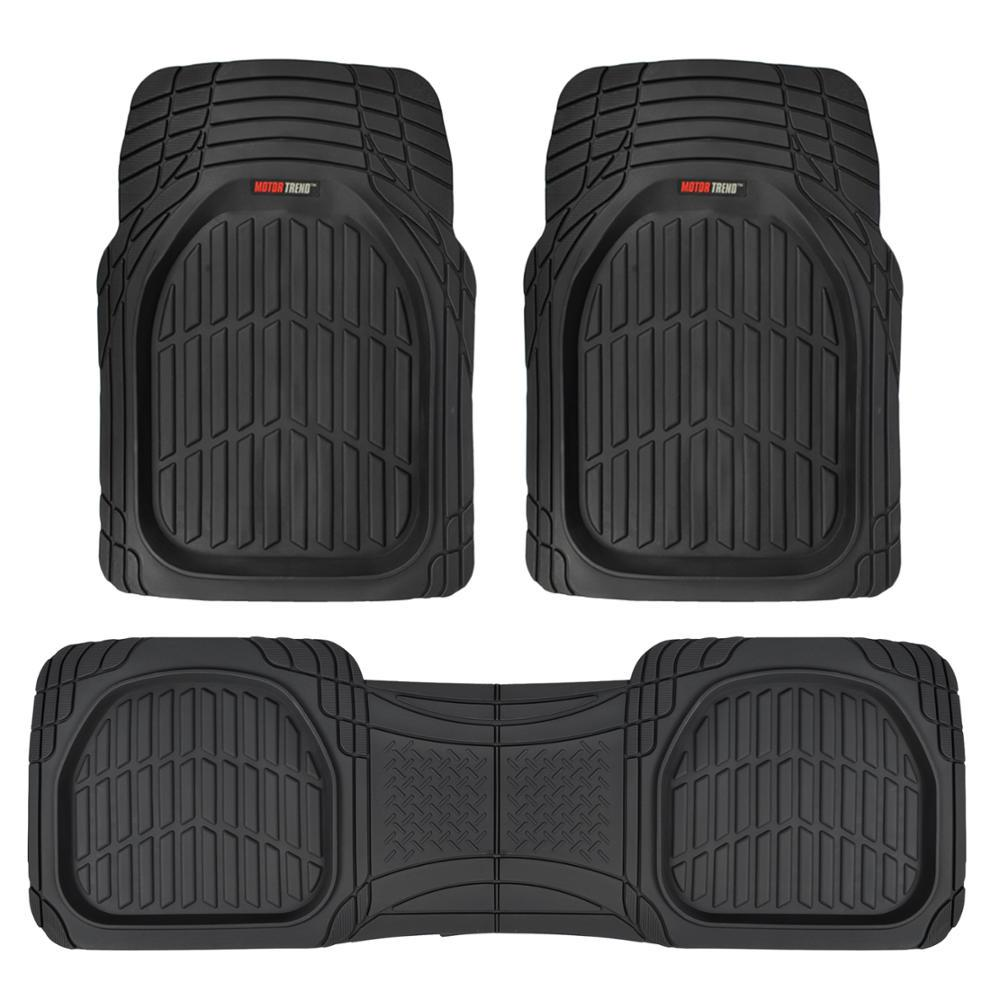 Motor Trend Deep Dish Mt 923 Black Heavy Duty 3 Piece All