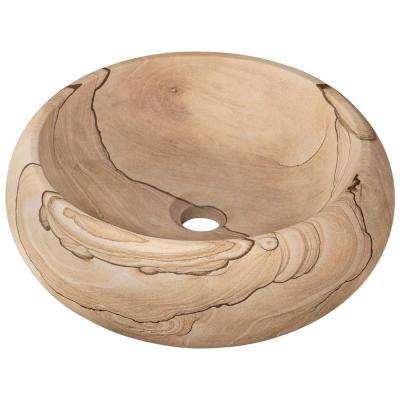 Stone Vessel Sink in Sandstone