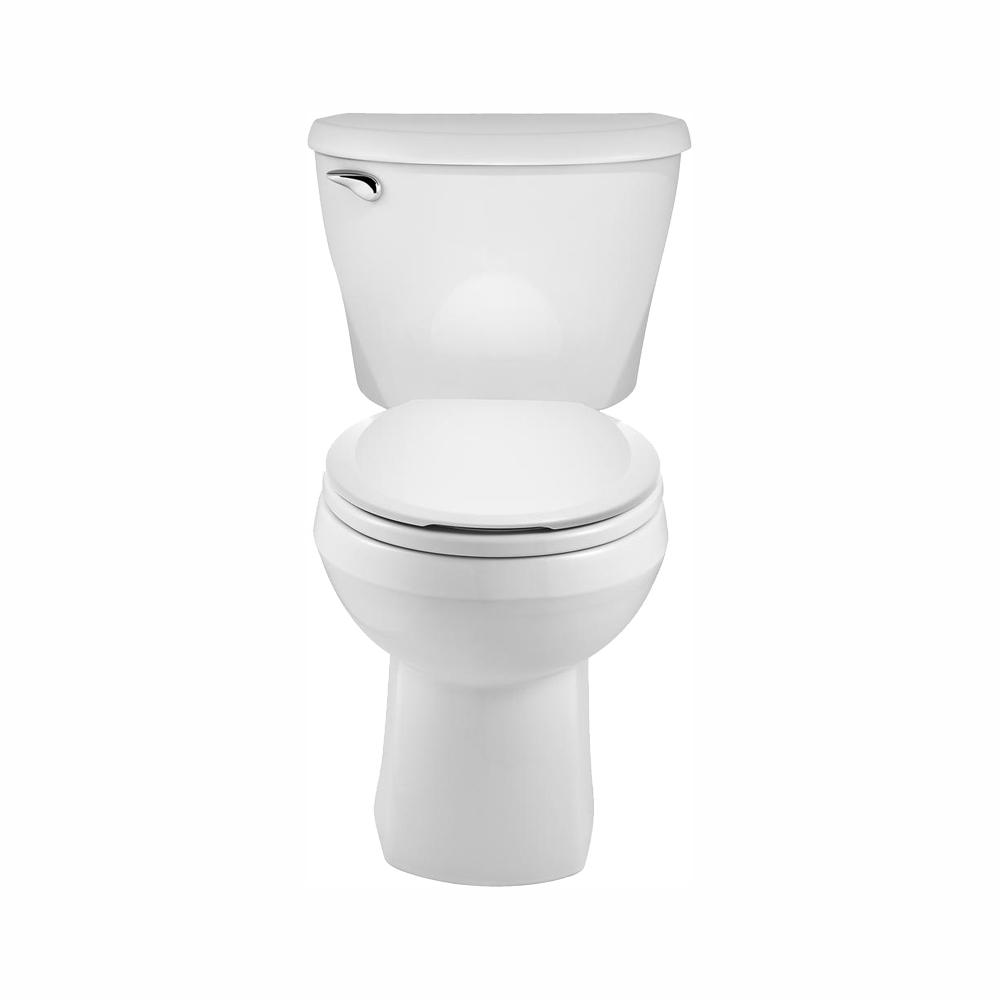Super American Standard Reliant 2 Piece 1 28 Gpf Single Flush Round Toilet With Slow Close Seat In White Caraccident5 Cool Chair Designs And Ideas Caraccident5Info
