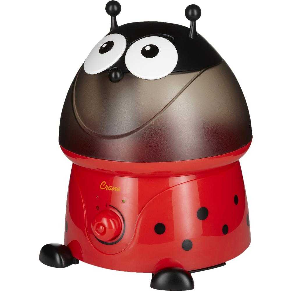 Crane Adorable Ultrasonic Cool Mist Humidifier in Lady Bug with Filter, Multi was $44.99 now $29.99 (33.0% off)