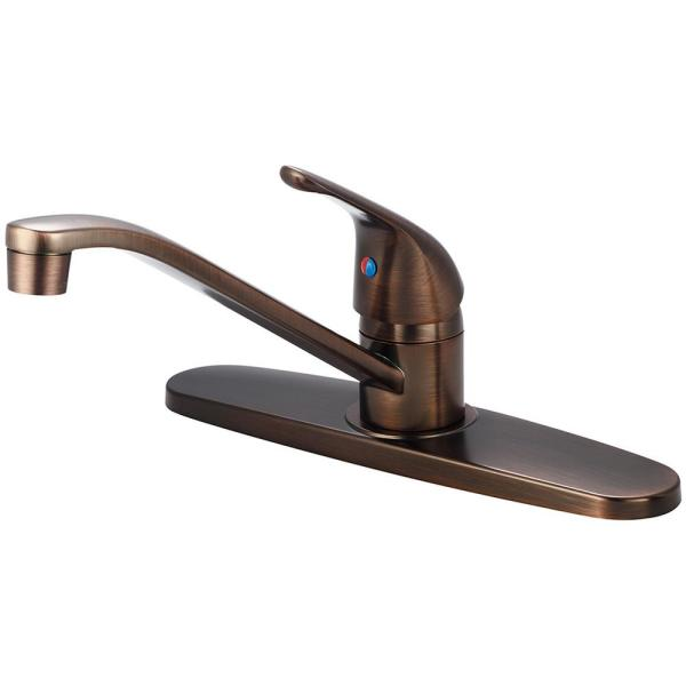 Elite Single-Handle Standard Kitchen Faucet in Oil Rubbed Bronze