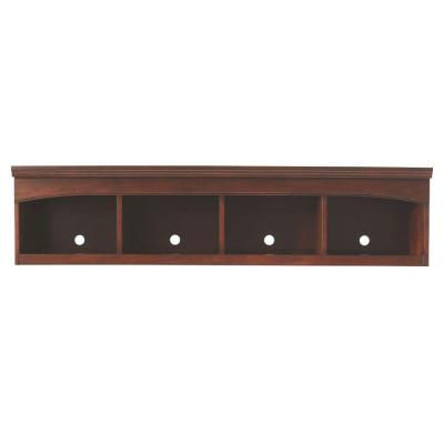 Edinburgh 13.5 in. H x 57 in. W Modular Center Bridge in Espresso