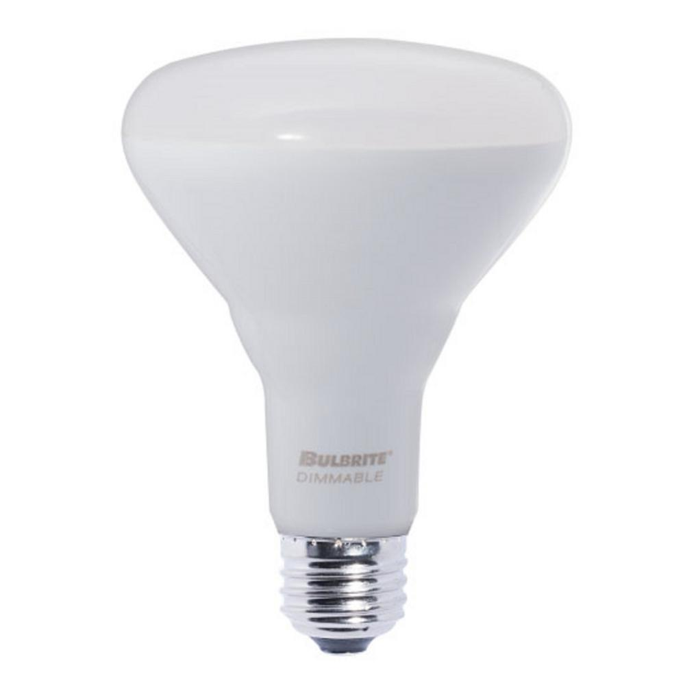 85W Equivalent Soft White Light BR30 Dimmable LED Very Wide Flood