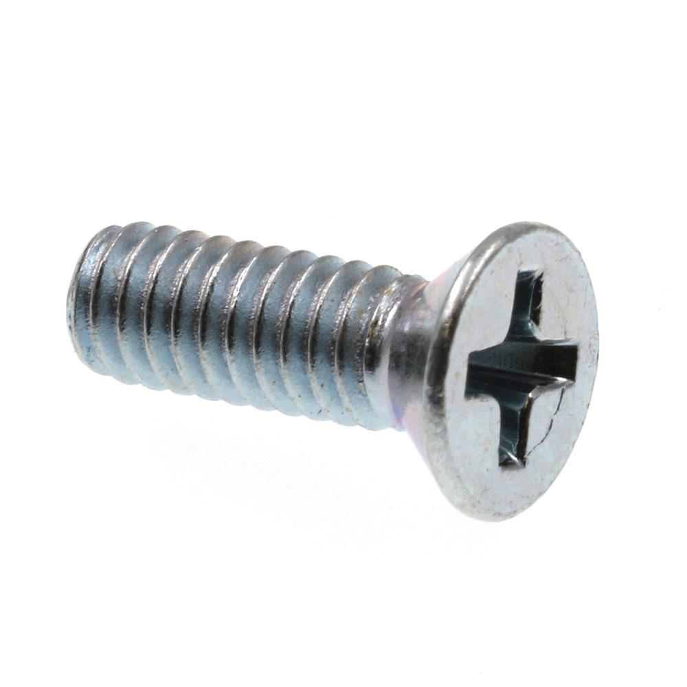 Phillips Drive 100-Pack #4-40 X 1//2 in. Zinc Plated Steel Flat Head Prime-Line 9000341 Machine Screws