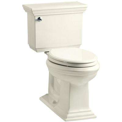 Memoirs Stately 2-piece 1.6 GPF Single Flush Elongated Toilet with AquaPiston Flush Technology in Biscuit