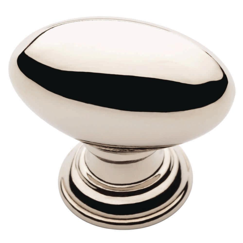 Liberty 1-1/4 In. Polished Nickel Rugby Cabinet Knob