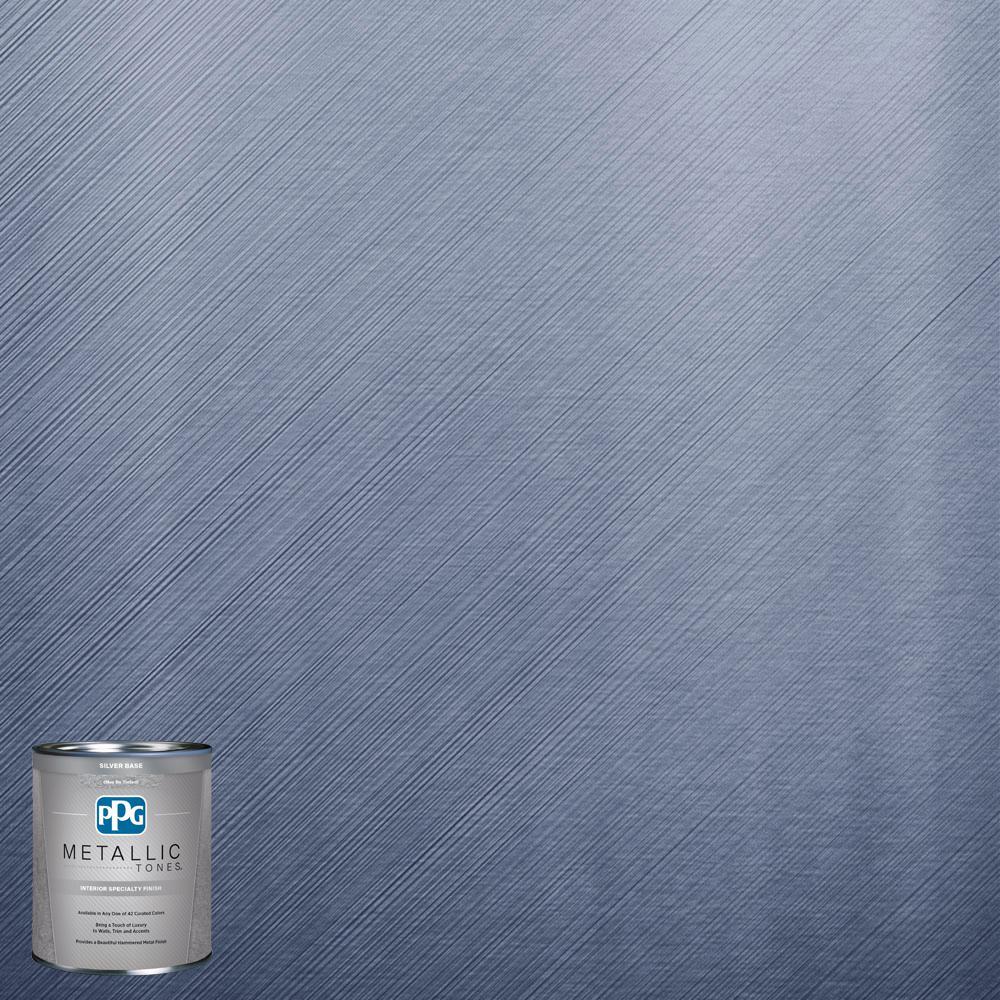 1 qt.#MTL113 Abundant Blue Metallic Interior Specialty Finish Paint