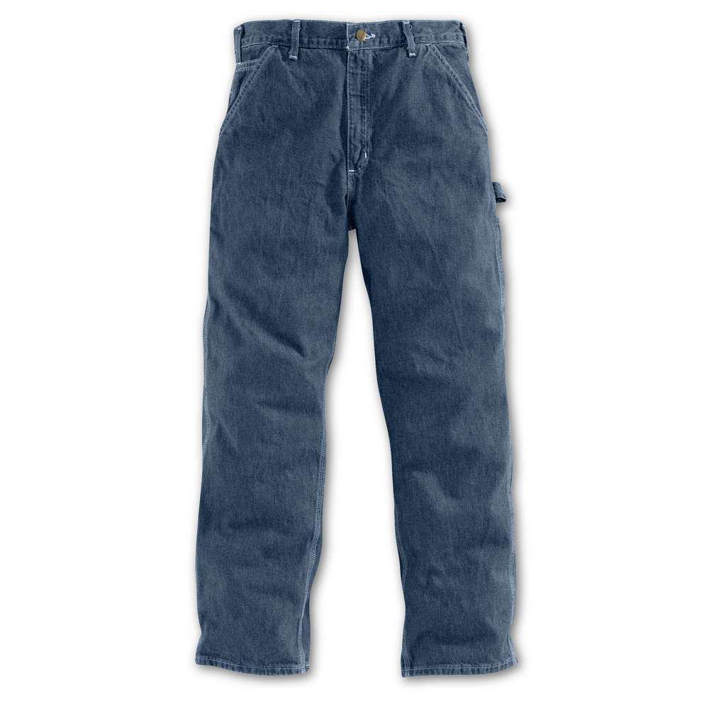 Men's 42x32 Darkstone Cotton Straight Leg Denim Bottoms