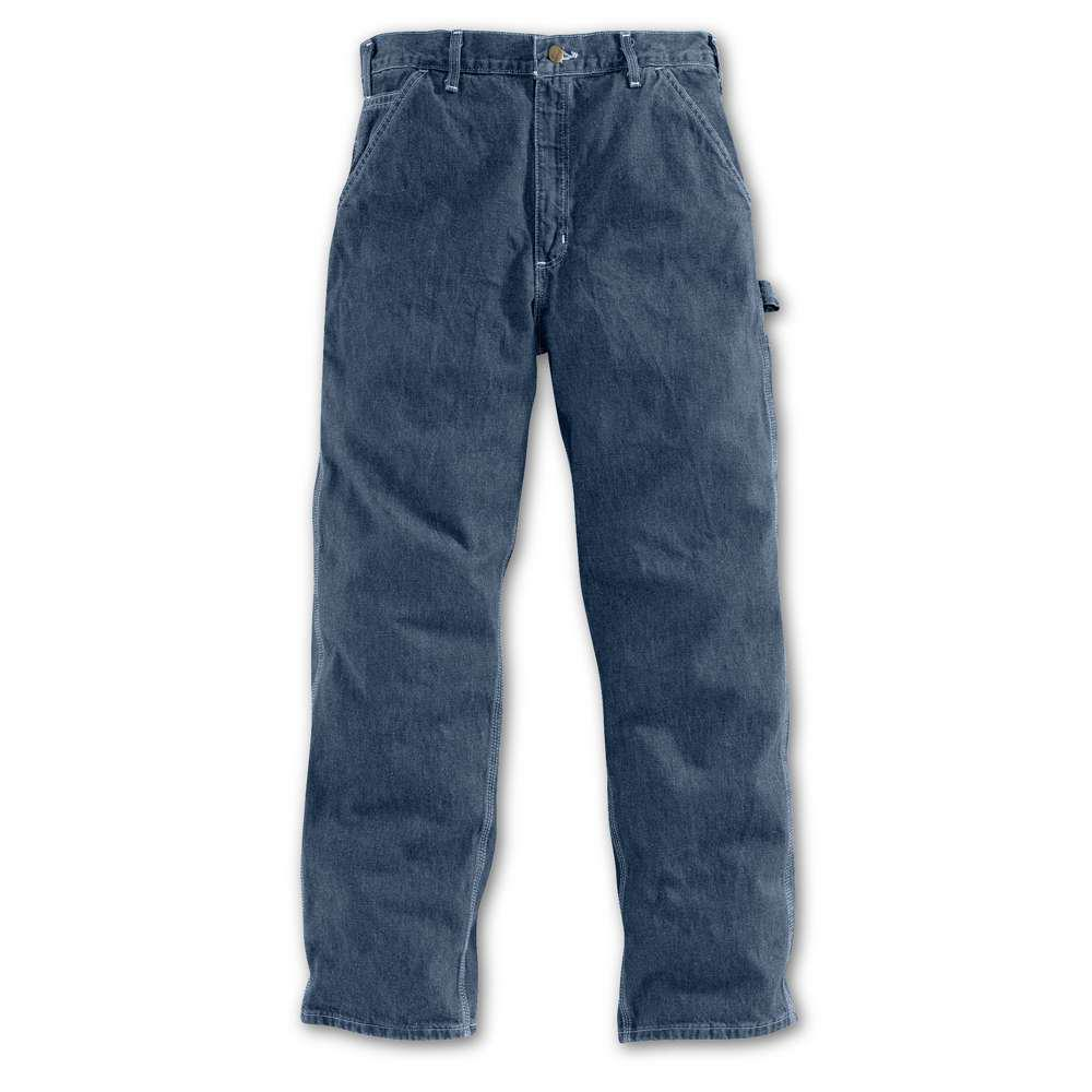 Men's 30x30 Darkstone Cotton Straight Leg Denim Bottoms