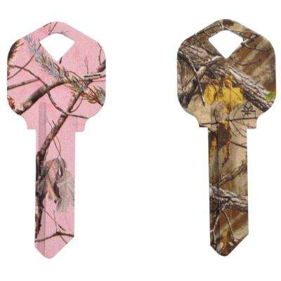 #66 Realtree Camo House Key