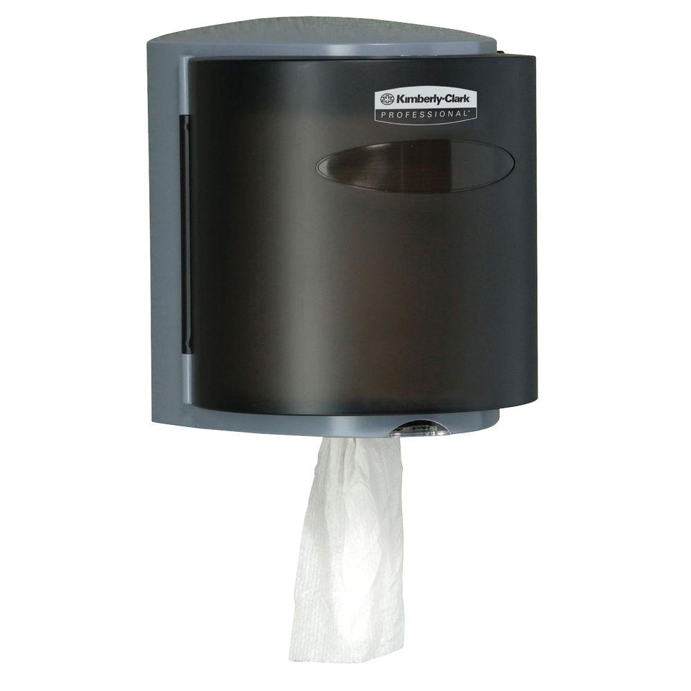 Kimberly-Clark PROFESSIONAL 11.9 in. x 10.4 in. x 9.4 in. Center Pull Towel Dispenser