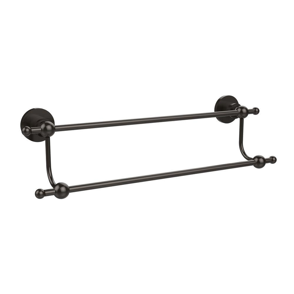 Allied Brass Astor Place Collection 24 In Double Towel Bar In Oil