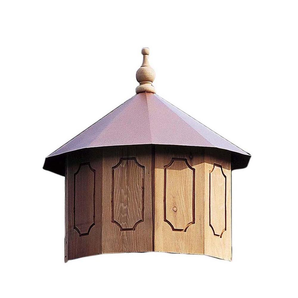 Handy Home Products San Marino 12 ft. Gazebo Cupola  sc 1 st  The Home Depot : cupola lighting ideas - www.canuckmediamonitor.org
