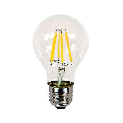 40W Equivalent Incandescent A19 Dimmable LED Filament Light Bulb