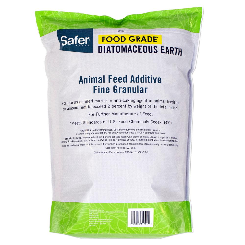 Safer Brand 4 Lb Diatomaceous Earth