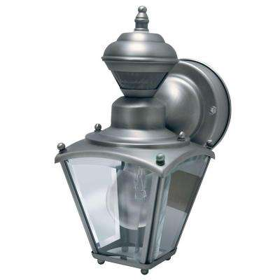150 Degree Silver Mini Coach Lantern with Clear Beveled Glass