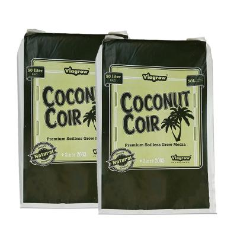 1.5 cu. ft. Coconut Coir Soilless Grow Media Bag (2-Pack)
