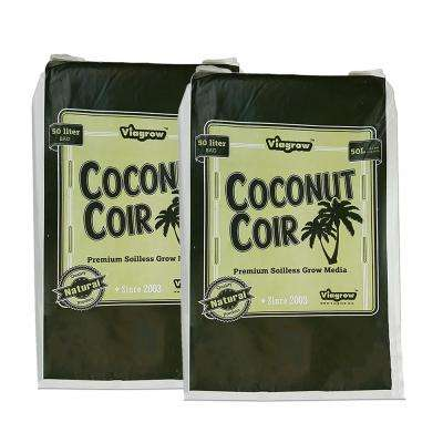 1.5 cu. ft. Coconut Coir Soilless Grow Media Bag (2-Pack)