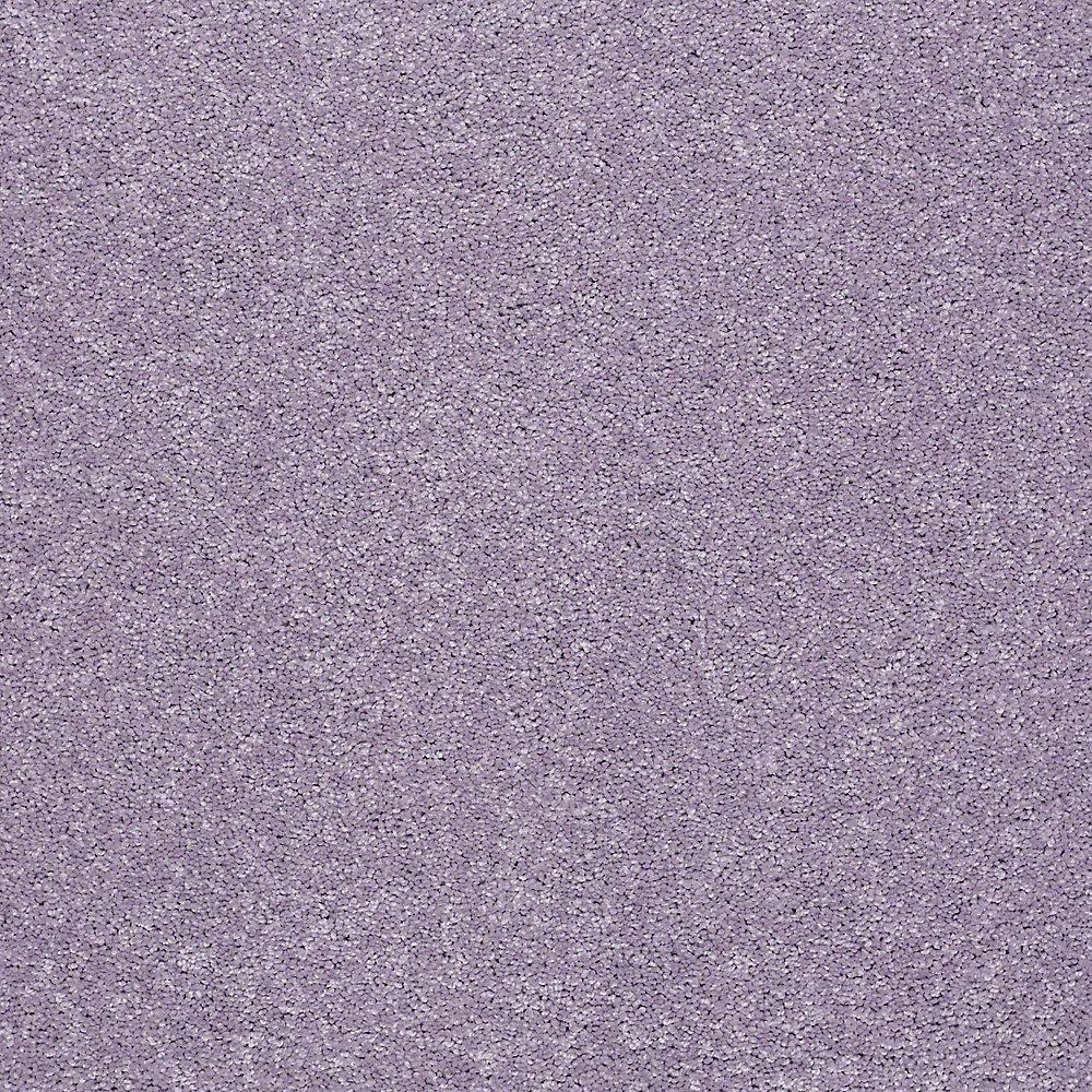 Carpet Sample - Joyful Whimsey - In Color Grape Mist 8 in. x 8 in.