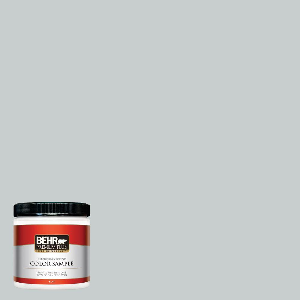 720e 2 Light French Gray Flat Interior Exterior Paint And Primer In One Sample